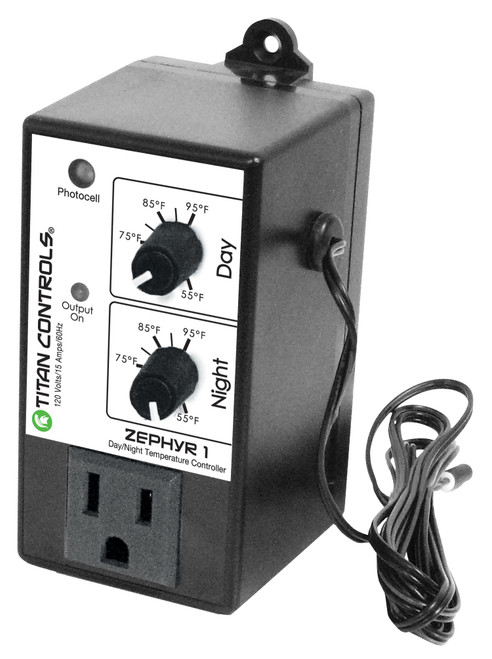 Titan Controls® Zephyr 1 - Day/Night Temperature Controller