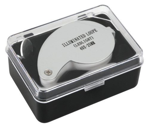 Grower's Edge® Illuminated Magnifier Loupe 40x