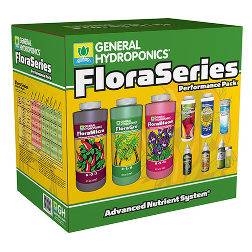 General Hydroponics® Flora Series® Performance Pack