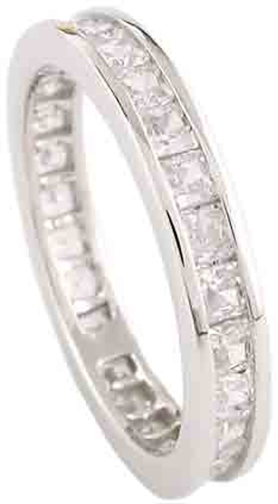 Solid 14k White Gold Setting
