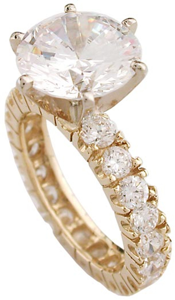 5.60 Total Carats Engagement Ring