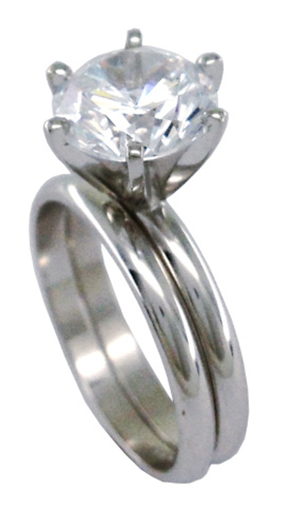 Stunning 14 Karat White Gold Setting