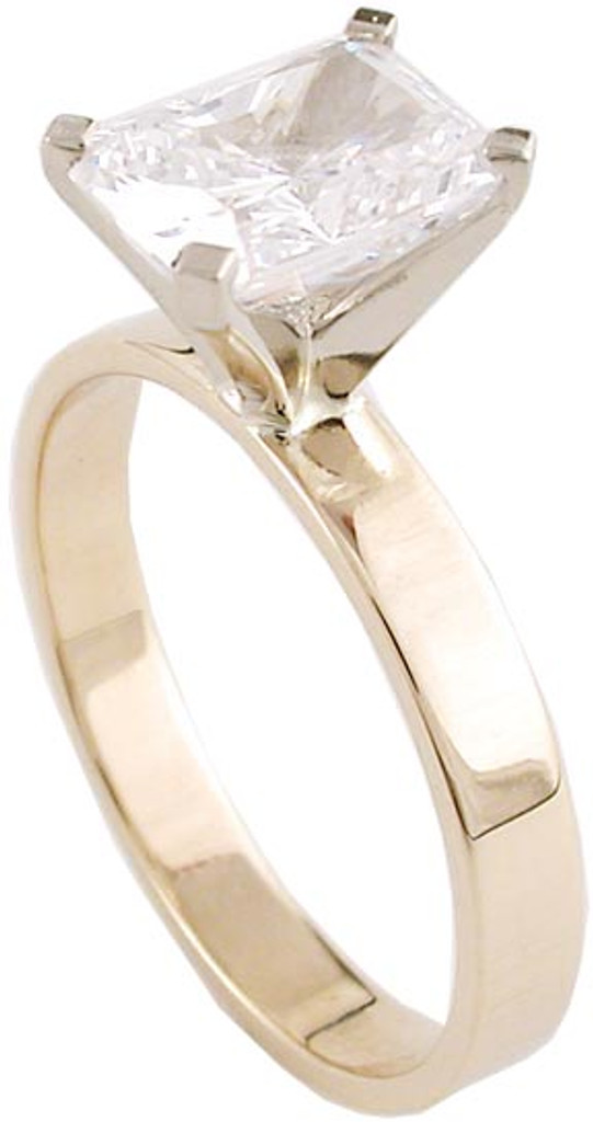 Solid 14 Karat Gold Setting