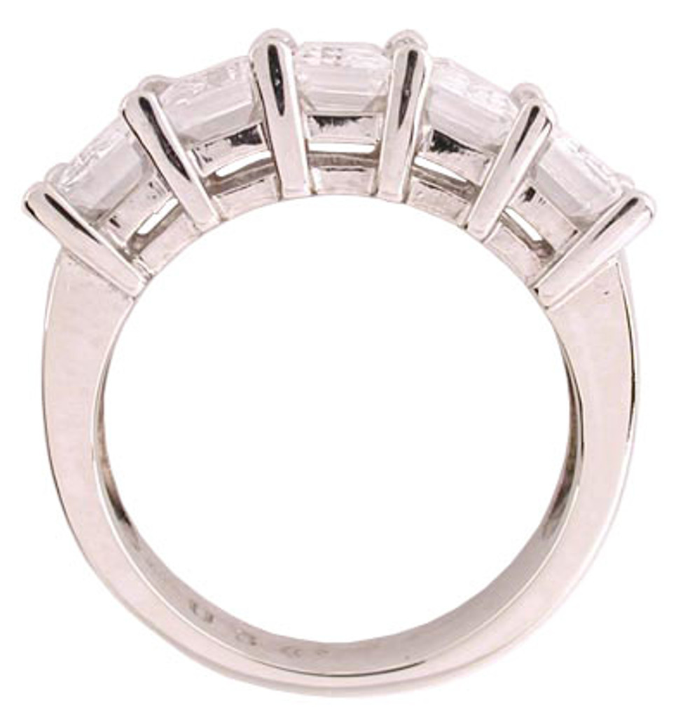 Solid 14 Karat Gold CZ Ring