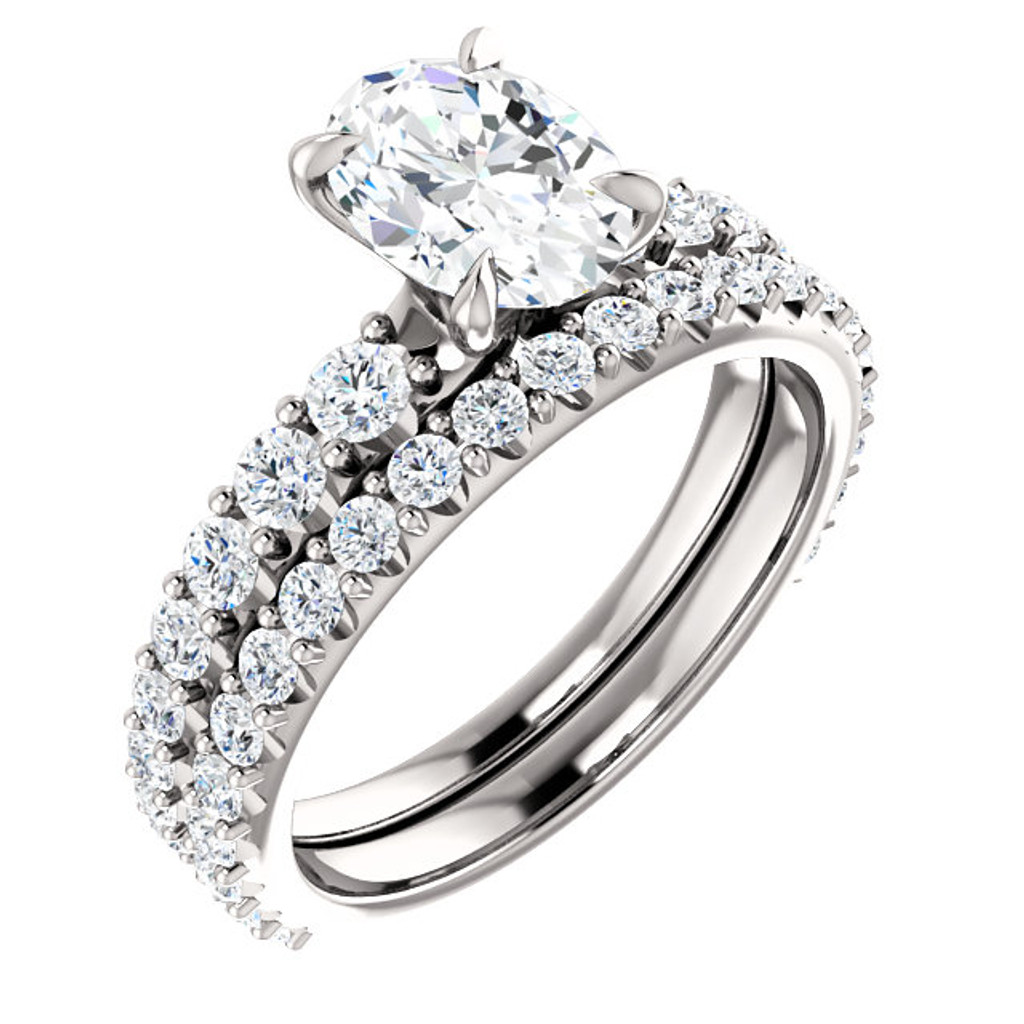 1 Carat Oval Cubic Zirconia of the Highest Quality