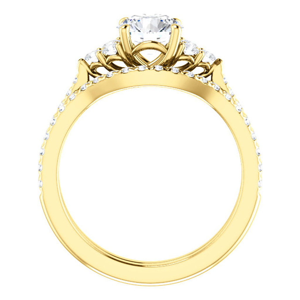 Beautiful Cubic Zirconia Engagement Ring