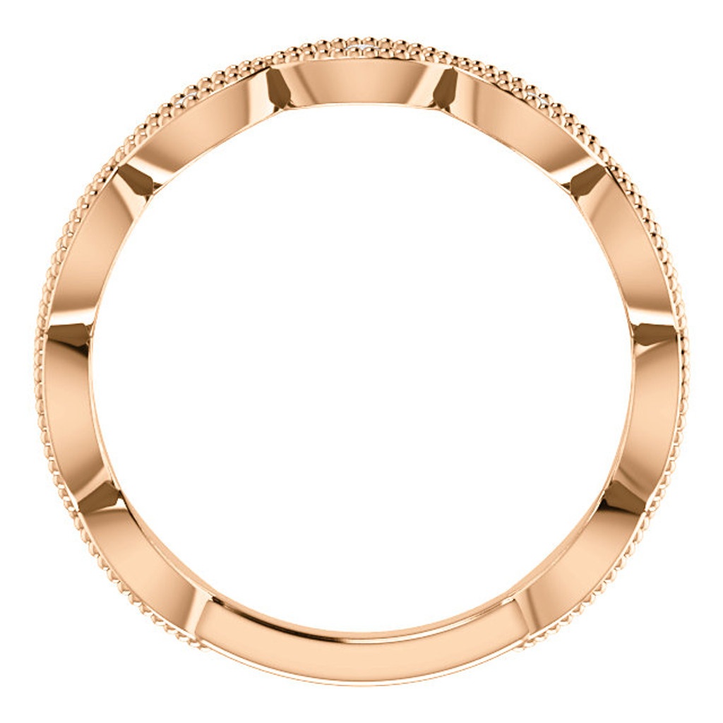 Highest Quality Solid 14 Karat Rose Gold Settings