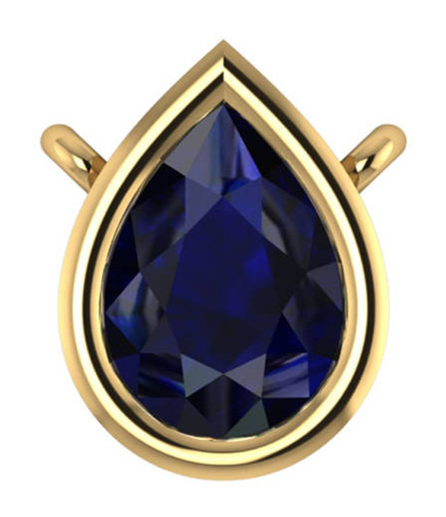 Finest Sapphire Blue Cubic Zirconia