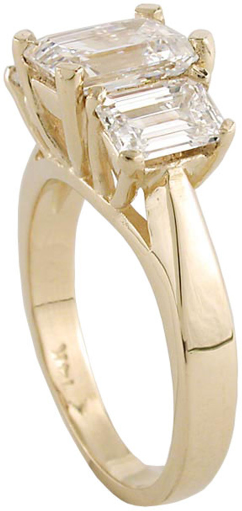 2.50 Total Carats in Yellow Gold