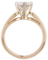Solid 14 Karat Yellow Gold Setting