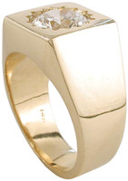 Heavy Solid 14 Karat Gold Setting