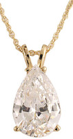 Lovely 4.00Ct Pear CZ Pendant