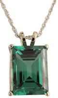 6.00Ct Laboratory Created Emerald Green CZ