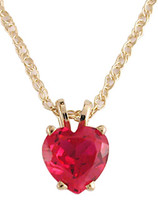 Beautiful .75Ct Ruby Red Cubic Zirconia