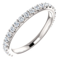 Highest Quality Cubic Zirconia Wedding Band