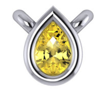 Stunning Canary Yellow Cubic Zirconia