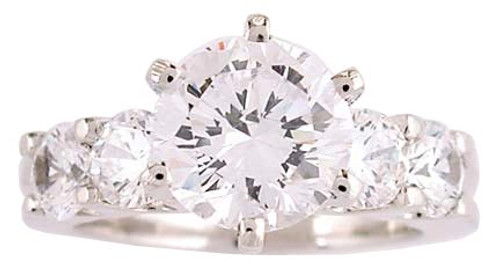 Flawless Hand Cut & Polished Cubic Zirconia