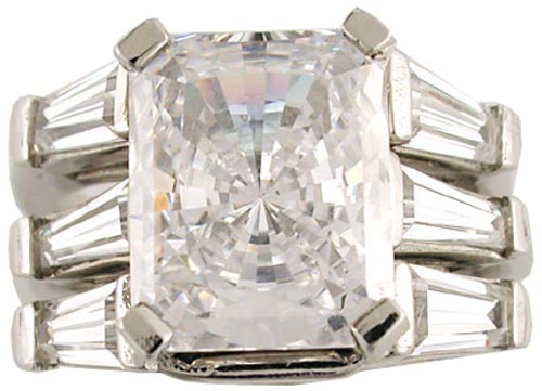 Hand Cut & Polished 3.50Ct Cubic Zirconia