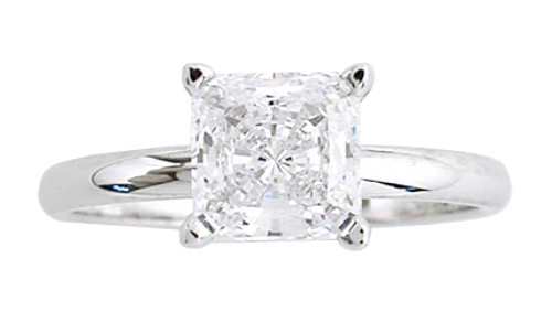 1 Carat CZ Solitaire Engagement Ring