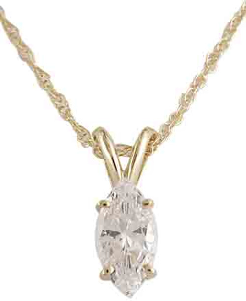 1.00Ct Hand Cut & Polished Marquise Cubic Zirconia
