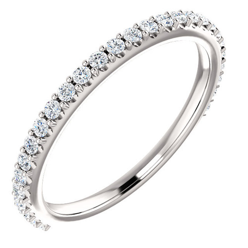Highest Quality Cubic Zirconia Stackable Band
