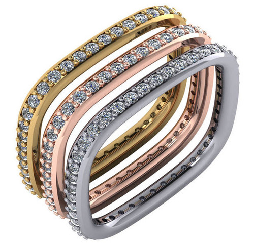 Stunning Contemporary Stackable Bands