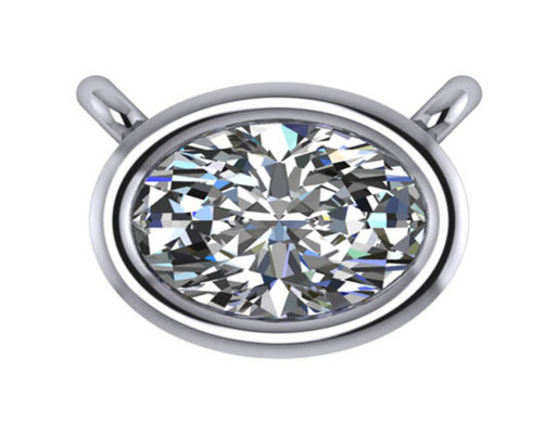Hand Cut & Polished 1.00Ct Oval Cubic Zirconia