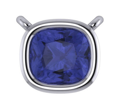 Hand Cut & Polished Sapphire Blue Cubic Zirconia