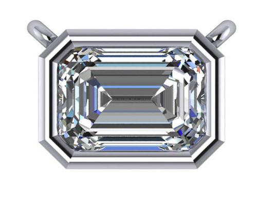 Highest Quality Emerald Cut Cubic Zirconia