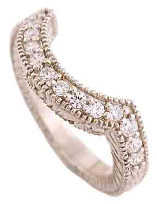 .32 Carat Cubic Zirconia Wedding Band