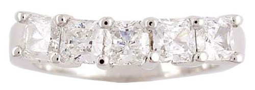 1.25 Carat Cubic Zirconia Wedding Band