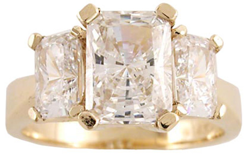 1.50ct Center Stone in Solid 14k Gold