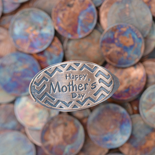 Pressed Copper Penny - Happy Mother's Day