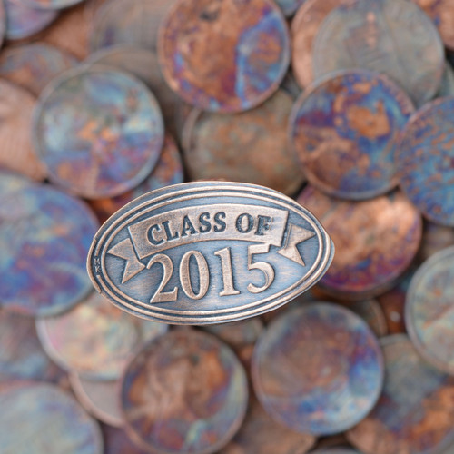 Pressed Copper Penny - Class of 2015
