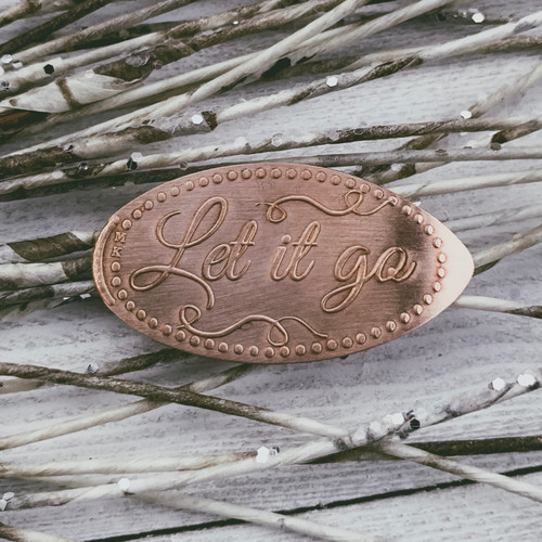 Pressed Copper Penny - Let It Go - Princess Collection - The Penny Depot