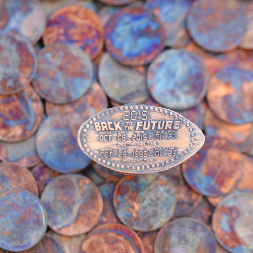 Pressed Penny - Back to the Future 2015
