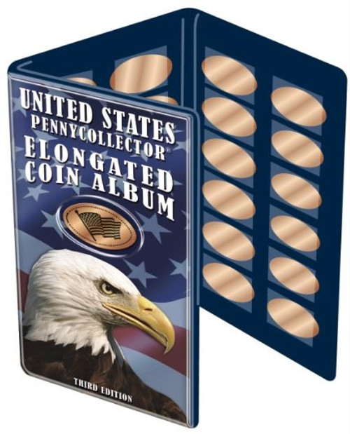 United States Elongated Coin Album Souvenir Pressed Penny Book The Penny Depot