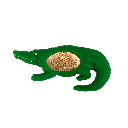 Chomp the Alligator PennyPalz Pennybandz Magnet, Penny Pals, Penny Bands, Penny Bandz, Copper Penny, Pressed Penny, Custom Pressed Penny, Custom Penny, Souvenir Pennies, The Penny Depot