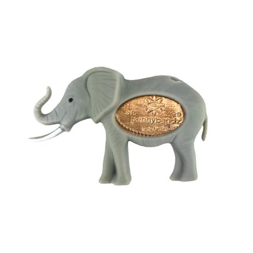 Flappy the Elephant PennyPalz Pennybandz Magnet, Penny Pals, Penny Bands, Penny Bandz, Copper Penny, Pressed Penny, Custom Pressed Penny, Custom Penny, Souvenir Pennies, The Penny Depot