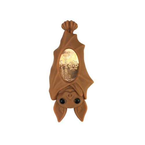 Sonar the Bat PennyPalz Pennybandz Magnet, Penny Pals, Penny Bands, Penny Bandz, Copper Penny, Pressed Penny, Custom Pressed Penny, Custom Penny, Souvenir Pennies, The Penny Depot
