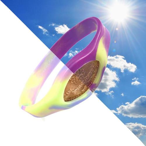 Chameleon Swirl Pennybandz Bracelet, Penny Bands, Penny Bandz, Copper Penny, Pressed Penny, Custom Pressed Penny, Custom Penny, Souvenir Pennies, The Penny Depot
