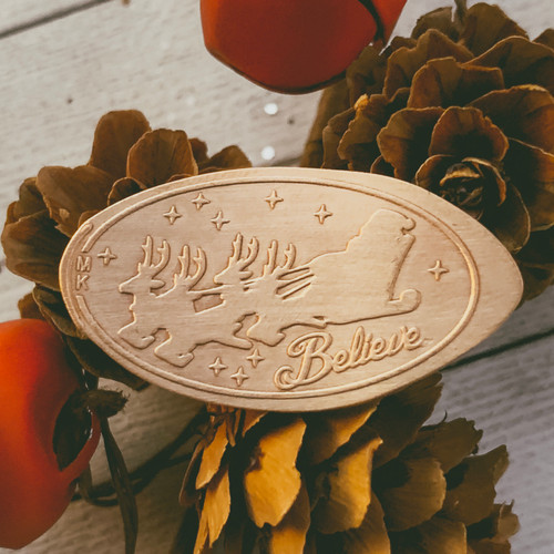 Pressed Copper Penny - Merry Christmas - Christmas Collection - The Penny Depot
