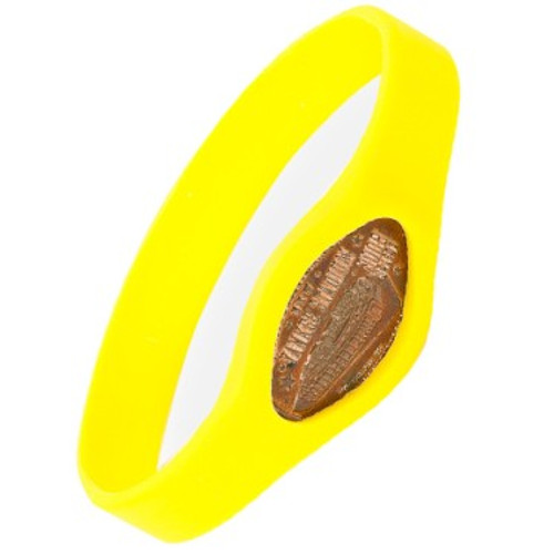 Mac n' Cheese Yellow Pennybandz Bracelet, Penny Bands, Penny Bandz, Copper Penny, Pressed Penny, Custom Pressed Penny, Custom Penny, Souvenir Pennies, The Penny Depot