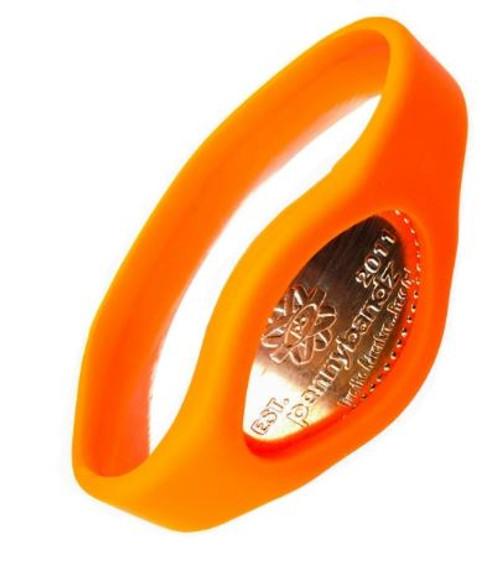 Lava Orange Pennybandz Bracelet, Penny Bands, Penny Bandz, Copper Penny, Pressed Penny, Custom Pressed Penny, Custom Penny, Souvenir Pennies, The Penny Depot