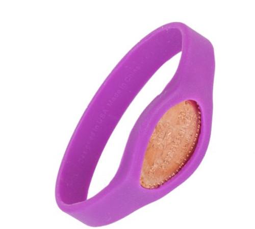 Purple Hippo Pennybandz Bracelet, Penny Bands, Penny Bandz, Copper Penny, Pressed Penny, Custom Pressed Penny, Custom Penny, Souvenir Pennies, The Penny Depot