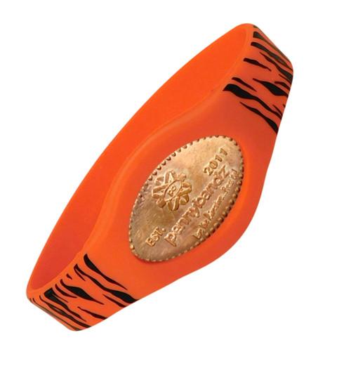 Tiger Pennybandz Bracelet, Penny Bands, Penny Bandz, Copper Penny, Pressed Penny, Custom Pressed Penny, Custom Penny, Souvenir Pennies, The Penny Depot