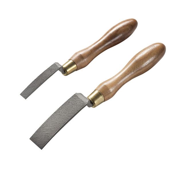 Auriou Cranked Neck Curved Ironing Rasps