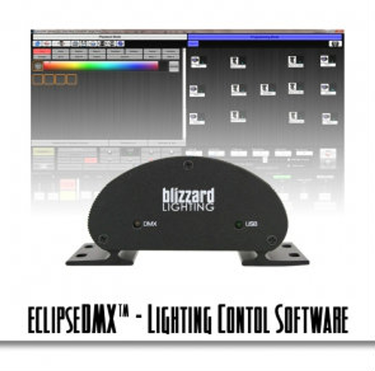 Blizzard Eclipse DMX Touch Screen Lighting Control Software for DJs