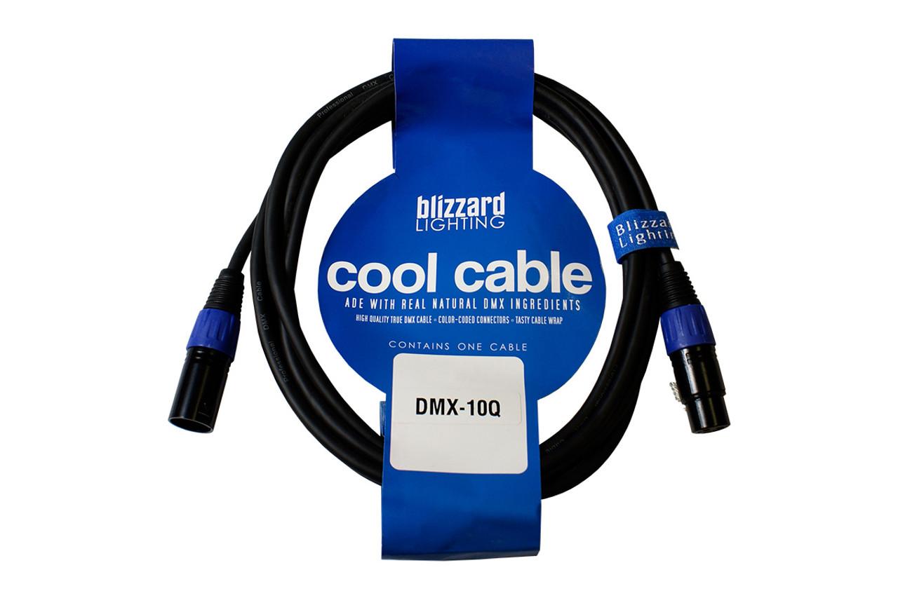Blizzard DMX-10Q DMX Cable (3-Pin)