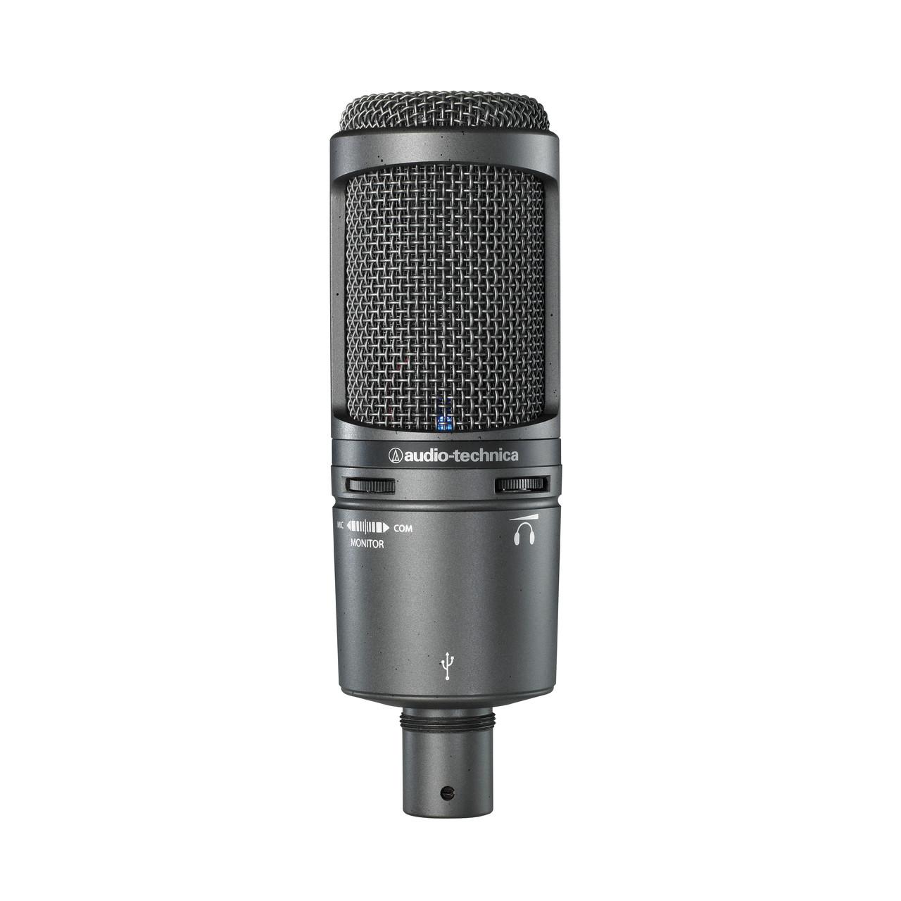 Audio-Technica 2020 USB+ Cardioid Condenser USB Microphone